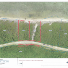 LITTLE CAYMAN EAST BLK 87A PARCELS 42/43 NORTH SHORE (PACKAGE DEAL)