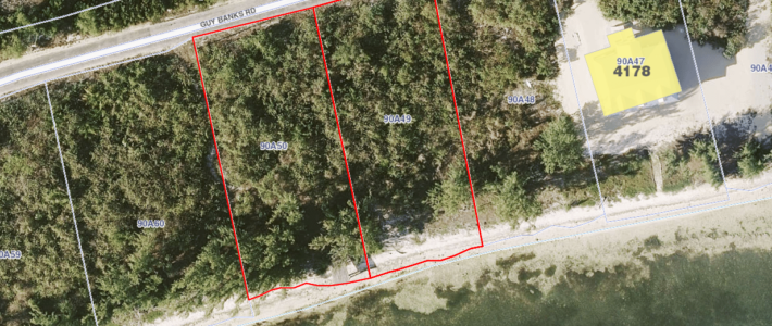 LITTLE CAYMAN EAST BLK 90A PARCELS 49 AND 50 SOUTH SHORE – SOLD