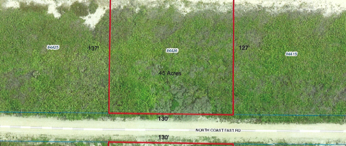 LITTLE CAYMAN EAST BLK 84A PARCEL 26 NORTH SHORE