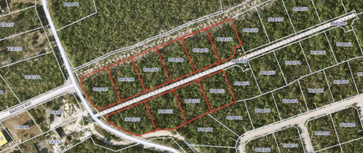 LITTLE CAYMAN WEST BLK 80A PARCELS 245 through 253 (OFF THE MARKET)