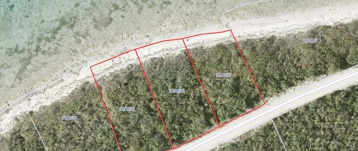 LITTLE CAYMAN EAST BLOCK 91A PARCELS 135, 136 AND 137 NORTH SHORE